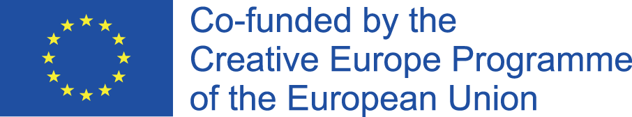 Co-funded by Creative Europe Programme of the European Union logo